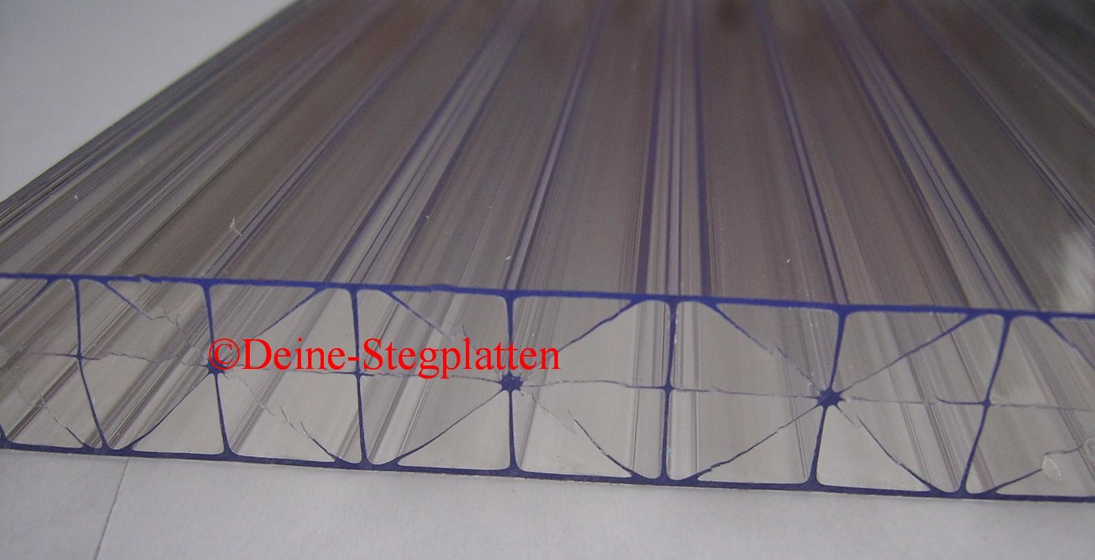 komplettdach terrassendach 16 mm stegplatten x steg klar 5x3 5 m mit zubeh r ebay. Black Bedroom Furniture Sets. Home Design Ideas