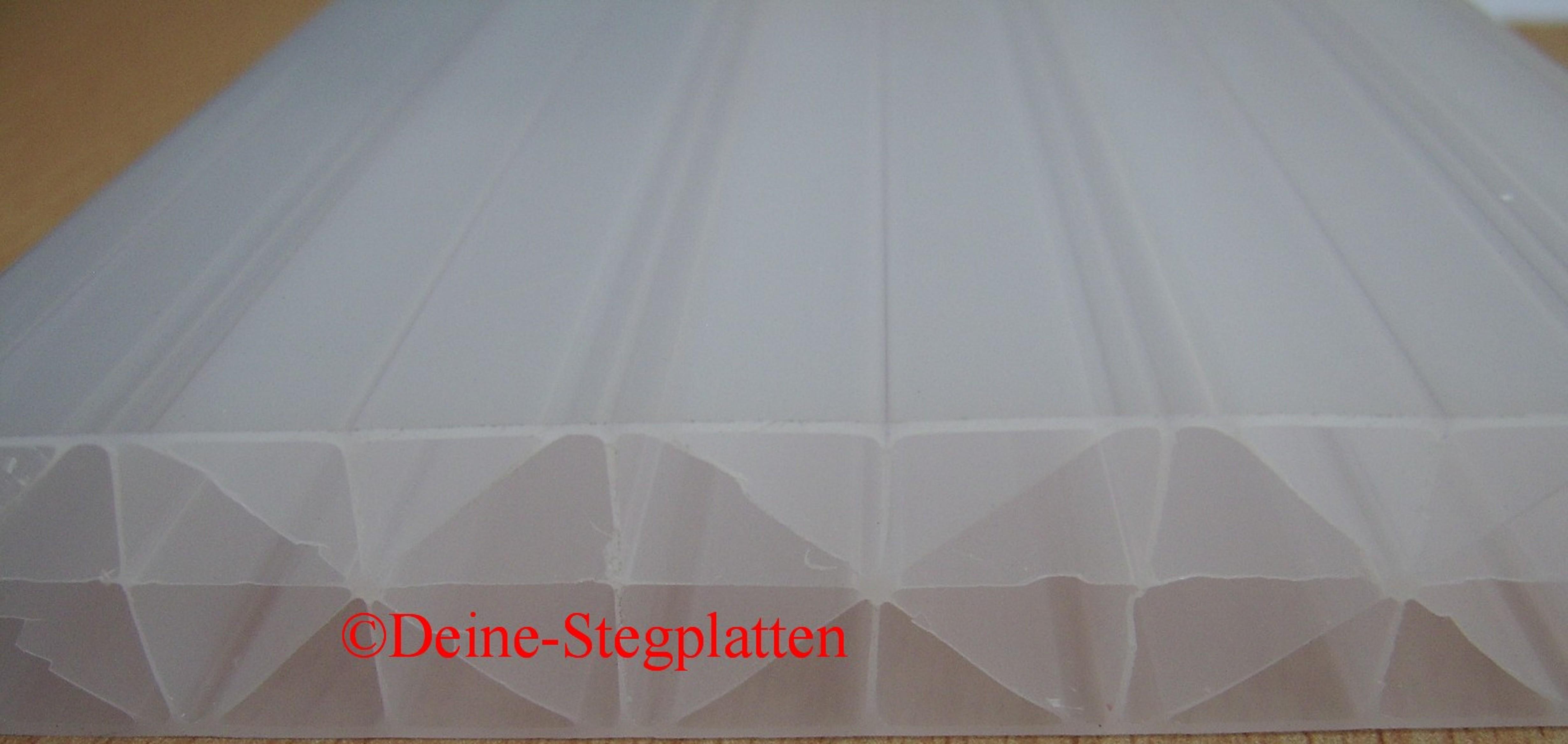 komplettdach terrassendach 16 mm stegplatten x steg opal 3x4 m mit zubeh r ebay. Black Bedroom Furniture Sets. Home Design Ideas